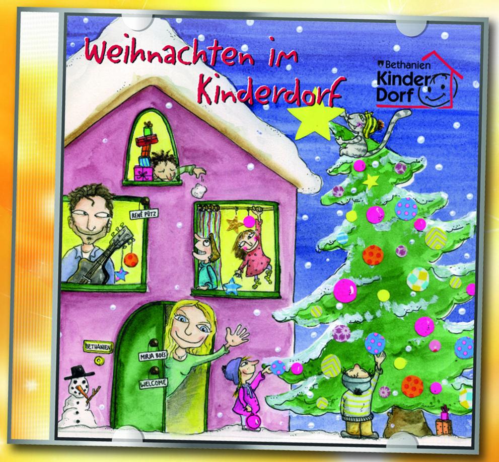 """Jetzt wieder erhältlich: """"Weihnachten im Kinderdorf"""" – CD mit Mirja Boes und René Pütz"""