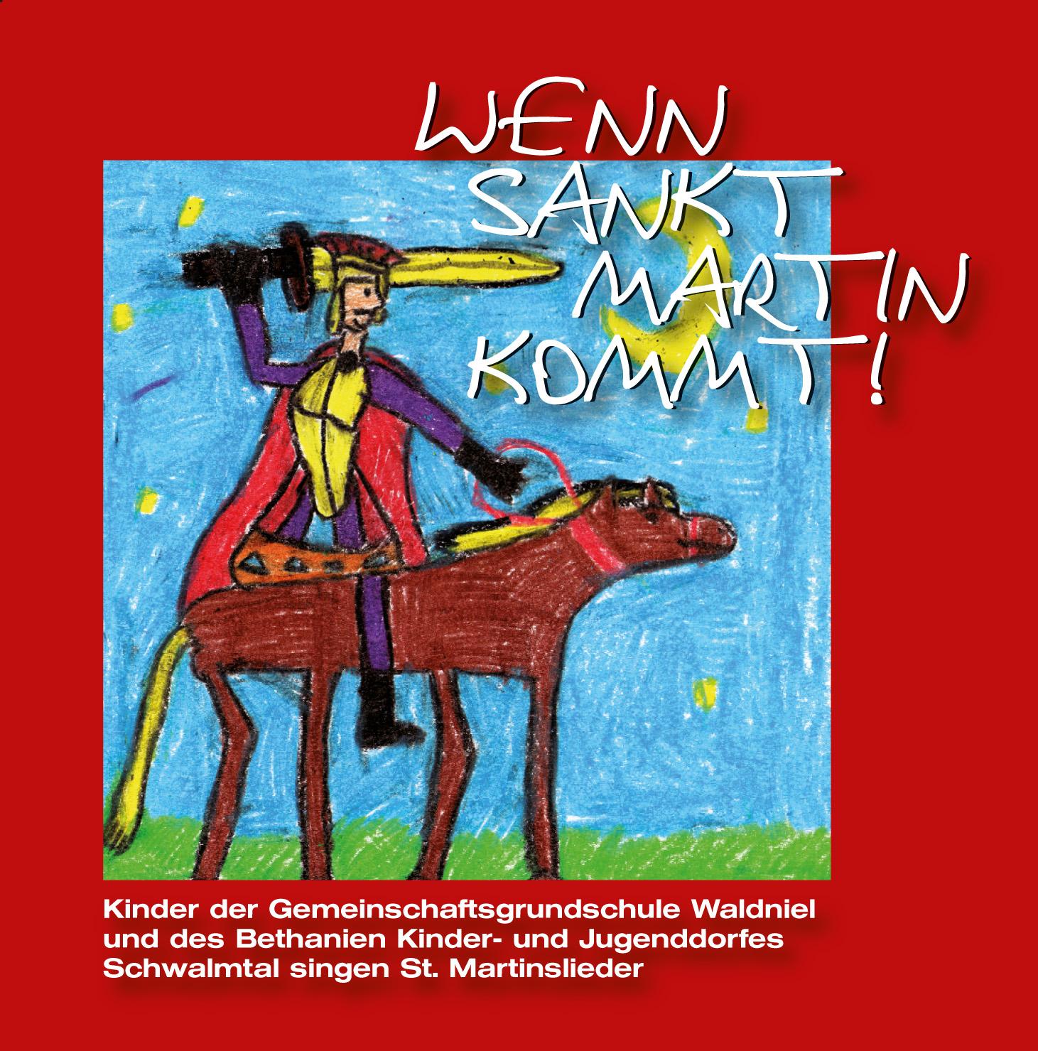 """Unsere CD """"Wenn Sankt Martin kommt"""" ist wieder erhältlich!"""