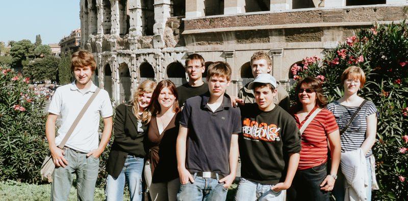 La Taste vor dem Kolosseum 2006